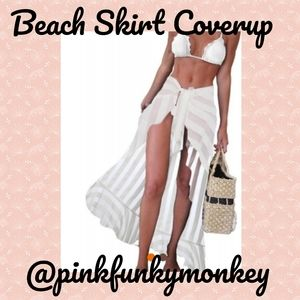 Other - New One Size Beach Skirt
